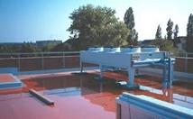 Airco op een plat dak