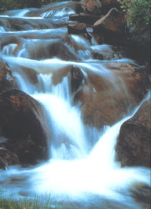 Kunstmatige waterval
