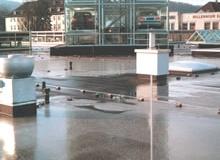 Tijdelijke water plassen